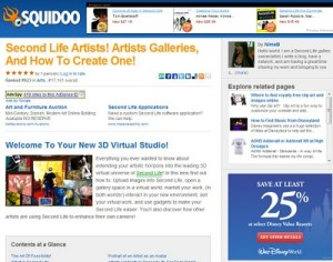 Secondlife Artists And Galleries And How To Create One