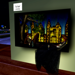 CityScape A Virtual World Art Piece SL8B